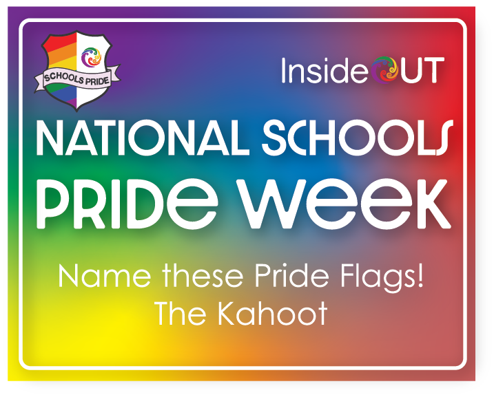 National Schools pride week - kahoot game - name these pride flags