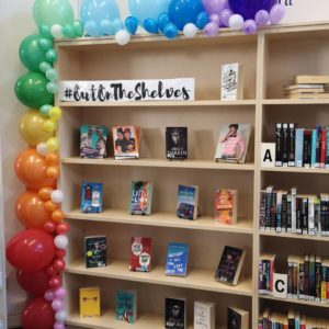 Out on the shelves example image